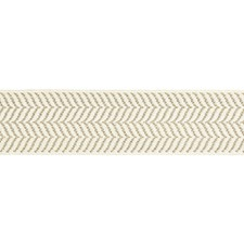 Flax On Ivory Trim by Scalamandre