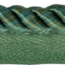 Cord With Lip Green Trim by Kravet