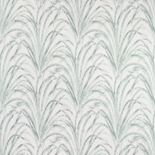 White/Green/Sage Botanical Drapery and Upholstery Fabric by Kravet