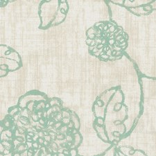 Aqua Drapery and Upholstery Fabric by Stout