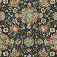 Cinder Smoke Drapery and Upholstery Fabric by RM Coco