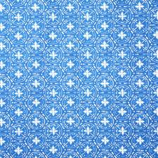Cerulean Print Drapery and Upholstery Fabric by Pindler