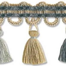 Tassel Fringe Azure Trim by Lee Jofa