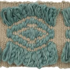 Braids Grey/Light Blue/Light Green Trim by Groundworks