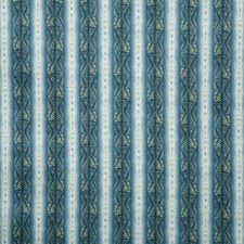 Teal Ethnic Drapery and Upholstery Fabric by Pindler