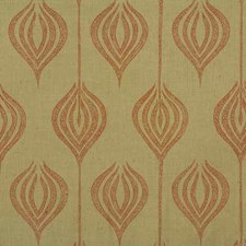 Sand/Coral Contemporary Drapery and Upholstery Fabric by Groundworks