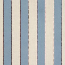 Colonial Blue Drapery and Upholstery Fabric by RM Coco