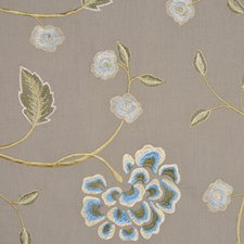 Blue Haze Drapery and Upholstery Fabric by RM Coco