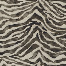 Charcoal/Light Grey/Ivory Animal Skins Drapery and Upholstery Fabric by Kravet