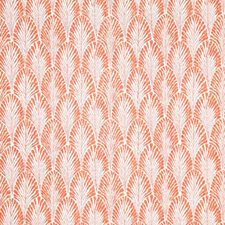 Coral Ethnic Drapery and Upholstery Fabric by Pindler