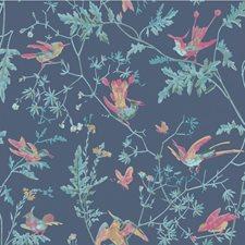 Indigo Multi-Colour Wallcovering by Cole & Son Wallpaper