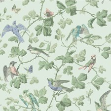 Duck Egg Wallcovering by Cole & Son Wallpaper