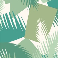 Green Print Wallcovering by Cole & Son Wallpaper
