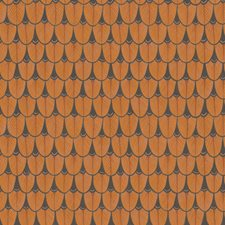 Burnt Orange Print Wallcovering by Cole & Son Wallpaper