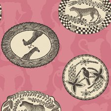 Pink Print Wallcovering by Cole & Son