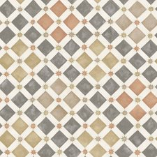 Spice/Charcoal Print Wallcovering by Cole & Son Wallpaper