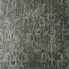 Grey/Silver Traditional Wallcovering by JF Wallpapers
