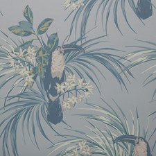 Pale Blue Wallcovering by Maxwell