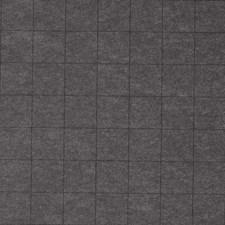 Plaid Black on Granite Wallcovering by Phillip Jeffries Wallpaper