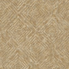 Gold Kitchen and Bath Wallcovering by Brewster