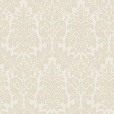 Warm Beige/Toasted Almond Damask Wallcovering by York