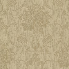 Gold Transitional Wallpaper Wallcovering by Brewster