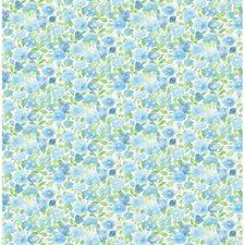 Sky Blue Wallcovering by Brewster