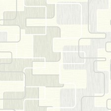 Green Retro Wallpaper Wallcovering by Brewster