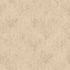 Khaki Geometric Wallcovering by Brewster