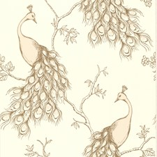 Blush Chinoiserie Wallcovering by Brewster