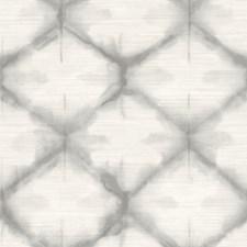 Grey Trellis Wallcovering by Brewster