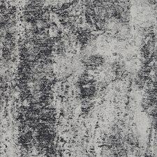 Jet Black On White Epi Leather Wallcovering by Phillip Jeffries Wallpaper
