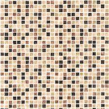 414-59632 Corfu Brown Tiles by Brewster