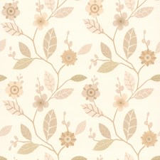 414-65770 Claudia Beige Retro Blossom by Brewster