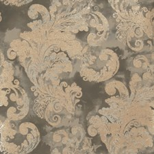 Charcoal Leaves Wallcovering by Fabricut Wallpaper