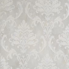 Soft Gray Floral Wallcovering by Fabricut Wallpaper
