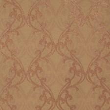 Bronze Spice Print Pattern Wallcovering by Fabricut Wallpaper