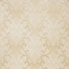 Shell Gold Print Pattern Wallcovering by Fabricut Wallpaper