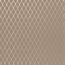 Taupe/Pewter Wallcovering by Schumacher Wallpaper