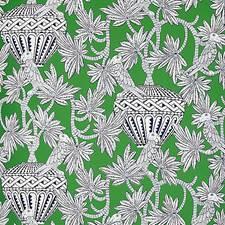Green Wallcovering by Schumacher