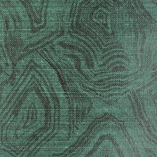 Malachite On Black Abaca Wallcovering by Phillip Jeffries Wallpaper