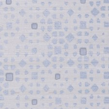 Light Blue On Silver Glam Grass Wallcovering by Phillip Jeffries Wallpaper