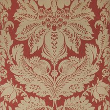 Cranberry Damask Wallcovering by Stroheim Wallpaper
