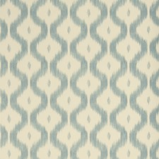 Teal Flamestitch Wallcovering by Stroheim Wallpaper