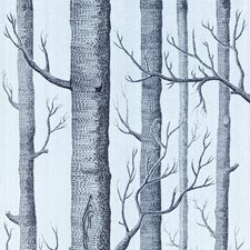 Choc/Silver Wallcovering by Cole & Son Wallpaper