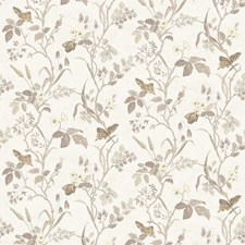 Floral Wallcovering by Vervain Wallpaper