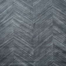 Wood Chevron Midnight Marquetry Wallcovering by Phillip Jeffries Wallpaper