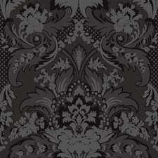 Black and Graphite Wallcovering by Cole & Son Wallpaper