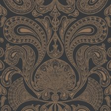 Bronze/Black Wallcovering by Cole & Son Wallpaper