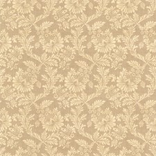 Light Brown Jacobean Wallcovering by Brewster